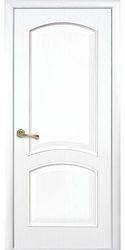Межкомнатные двери Антре глухое, ПВХ DeLuxe Белый матовый
