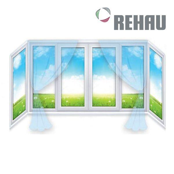Балкон П-образный Рехау,
