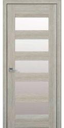 Межкомнатные двери Бронкс со стеклом сатин, Нано Флекс Дуб сицилия