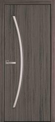 Межкомнатные двери Дива со стеклом сатин, Экошпон  Дуб Атлант