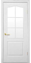 Межкомнатные двери Классик под остекление, Под покраску Структурный