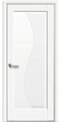 Межкомнатные двери Эскада глухое, Premium Белый матовый