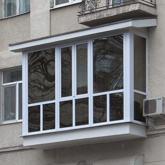Французкий балкон Рехау,