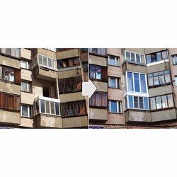 Французкий балкон Рехау