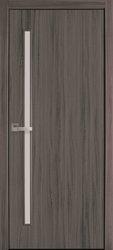 Межкомнатные двери Глория со стеклом сатин, Экошпон  Дуб Атлант