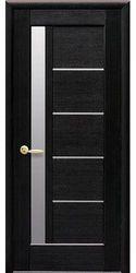 Межкомнатные двери Грета со стеклом сатин, ПВХ DeLuxe Венге new