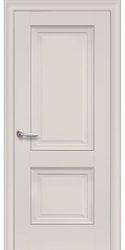 Межкомнатные двери Имидж Глухое с молдингом, Premium Магнолия