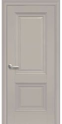 Межкомнатные двери Имидж Глухое с молдингом, Premium Капучино