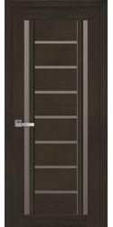 Межкомнатные двери Флоренция С2 с бронзовым стеклом, Смарт жемчуг кофейный
