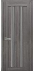 Межкомнатные двери Верона С1 с графитовым стеклом, Смарт жемчуг графит