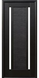 Межкомнатные двери Луиза со стеклом сатин, ПВХ DeLuxe Венге new