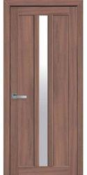 Межкомнатные двери Марти со стеклом сатин, Экошпон  Ольха 3D