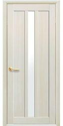 Межкомнатные двери Марти со стеклом сатин, Экошпон  Дуб жемчужный