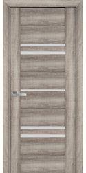 Межкомнатные двери Мерида со стеклом сатин, ПВХ Viva Бук Баварский