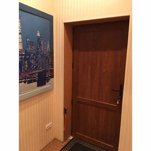 Металлопластиковая Межкомнатная дверь Виконда 60 мм Классик Золотой Дуб,