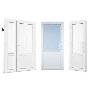 Металлопластиковые двери KBE 6 камер,