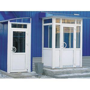 Металлопластиковые межкомнатные двери Rehau 60 мм Ecosol,