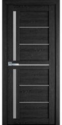 Межкомнатные двери Диана со стеклом сатин, ПВХ Ultra дуб серый