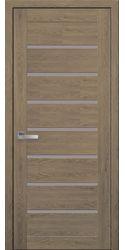 Межкомнатные двери Леона, ПВХ Ultra дуб медовый