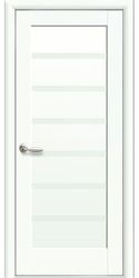 Межкомнатные двери Линнея глухое, Premium Белый матовый