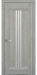 Межкомнатные двери Рейс со стеклом сатин, Нано Флекс  Дуб сицилия