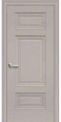Межкомнатные двери Шарм Глухое с молдингом, Premium Капучино