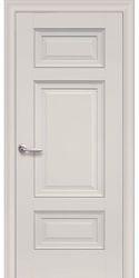 Межкомнатные двери Шарм Глухое с молдингом, Premium Магнолия