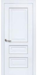 Межкомнатные двери Статус Глухое с молдингом, Premium Белый матовый
