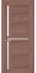 Межкомнатные двери Тринити со стеклом сатин, Экошпон  Ольха 3D