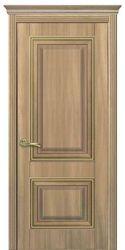 Межкомнатные двери Вилла Премиум глухое, ПВХ DeLuxe Золотой дуб